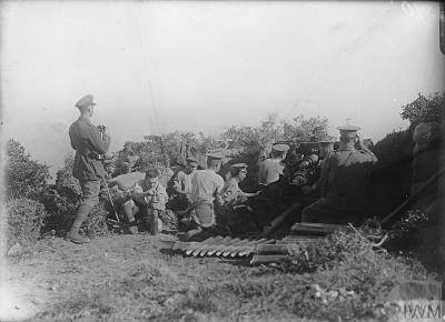18pdr at Gallipoli (IWM)