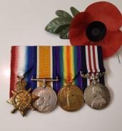 Garlick, Bdr T E medals 2