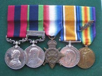McCorkindale, Sgt P medals incl DCM
