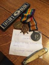 Murkin J A razor and medals