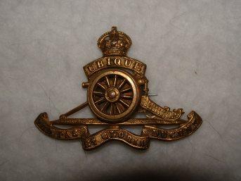 Noble, Gnr A cap badge